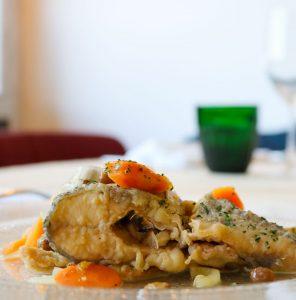 il piatto Tris in carpione del Ristorante Montecarlo Tortona