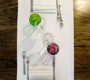 i tavoli del Ristorante Montecarlo